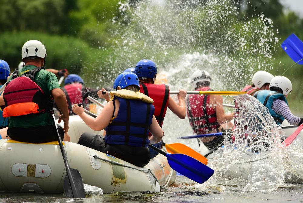 kayaking at seasons bali