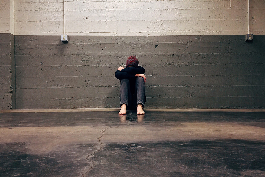 alone person