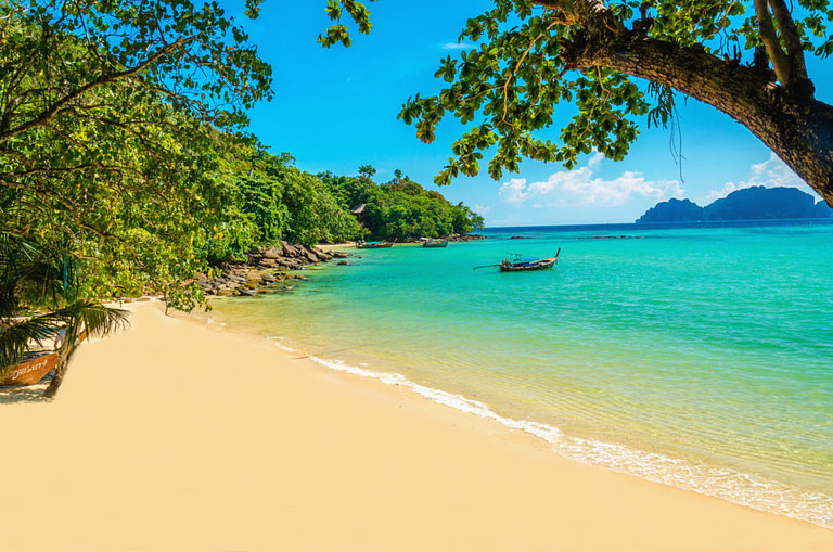 Isolated Beach Near Seasons Bali Rehab
